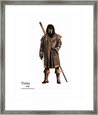 Timba Framed Print by Vjkelly Artwork