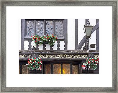 Timber Building Framed Print by Tom Gowanlock