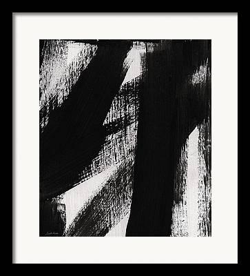 Brushwork Framed Prints