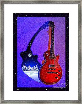 Magic To The World... Music To The World .1 Framed Print by Gem S Visionary
