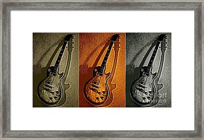 Timbre Rock Framed Print