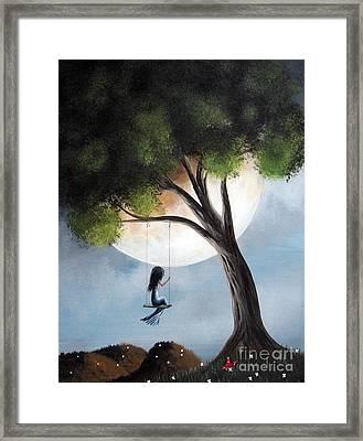 Time Alone By Shawna Erback Framed Print