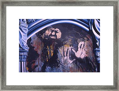 Time And Distance Framed Print