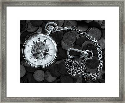 Time And Money Framed Print