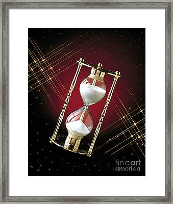 Time And Space Framed Print by Gary Gingrich Galleries