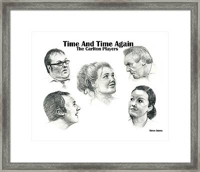 Time And Time Again Framed Print by Steve Jones