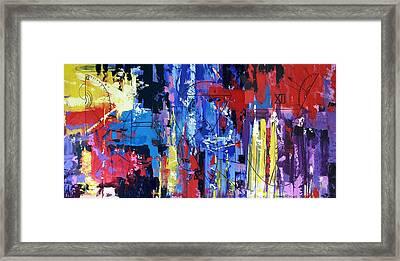 Time Framed Print by Anthony Falbo