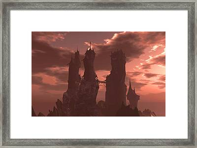 Time Before Dawn Framed Print