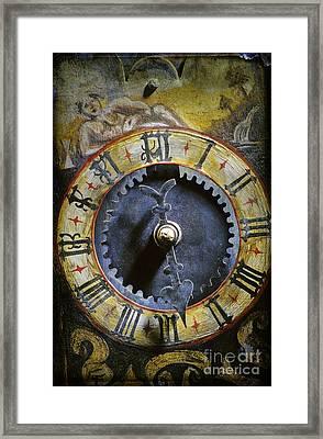 Time Framed Print by Bernard Jaubert