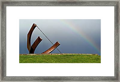 Time Between Storms Framed Print