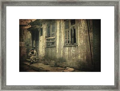 Time Beyond Time Framed Print by Taylan Apukovska