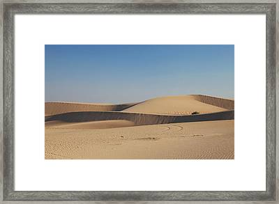 Time Changes Things Framed Print