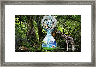 Time Continuum Framed Print