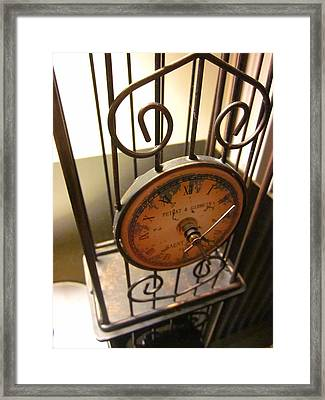 Time Feels So Vast Framed Print by Guy Ricketts