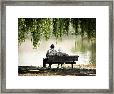 Time Flies By Framed Print