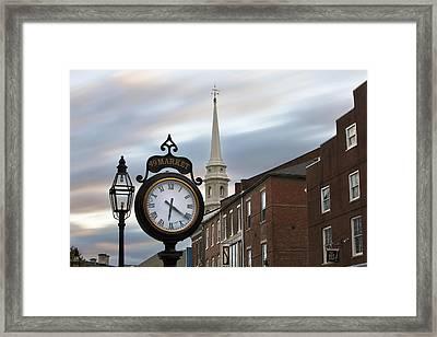 Time Flies Framed Print