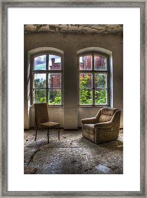 Time For 2 Framed Print by Nathan Wright