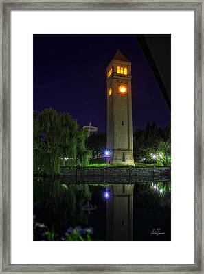Time For Calm Framed Print by Dan Quam