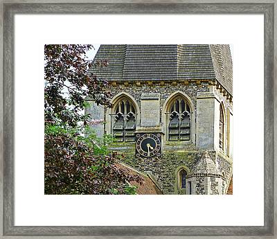 Time For Church Framed Print