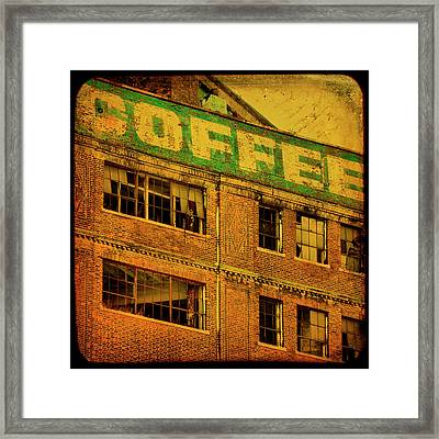 Time For Coffee Framed Print