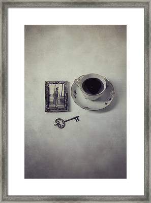 Time For Coffee Framed Print by Joana Kruse