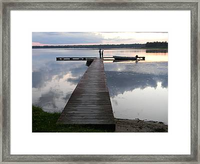 Time For Exploring Framed Print