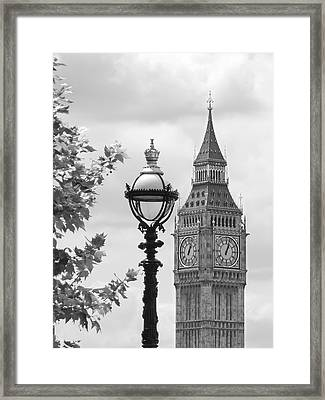 Time For Lunch Framed Print by Gill Billington