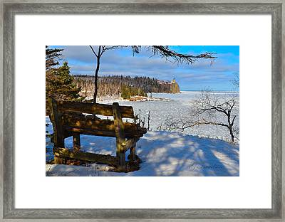 Time For Pause Framed Print by Gregory Israelson