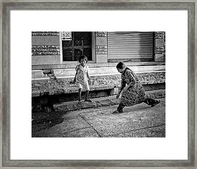 Time For Play.. Framed Print by A Rey