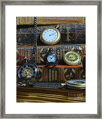 Time For Reading Framed Print by Paul Ward