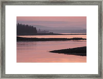 Time For Silence Framed Print by Elzbieta Weron