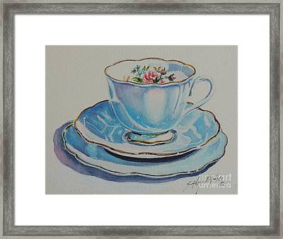 Time For Tea Sold Framed Print