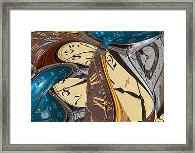 Time Further Out Framed Print