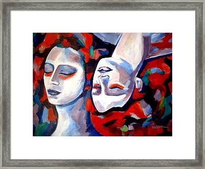 Framed Print featuring the painting Time Goes By by Helena Wierzbicki
