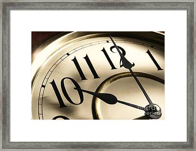 Time Goes By Framed Print by Olivier Le Queinec