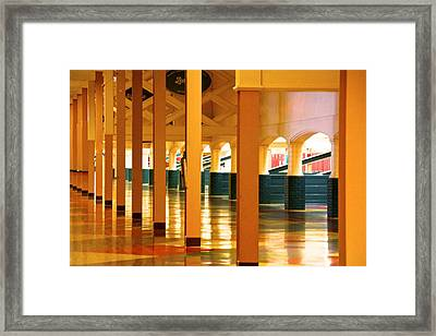 Time Gone By Framed Print by Renee Sinatra