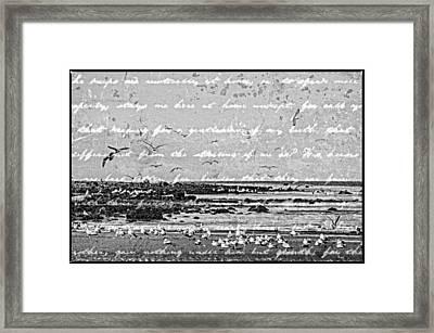 Time Honoured Ritual Herring Season Framed Print by Roxy Hurtubise