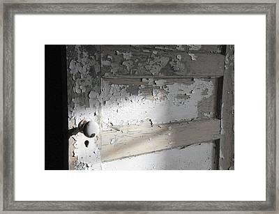 time II Framed Print by Leon Hollins III