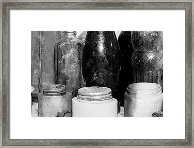 Time In A Bottle Framed Print