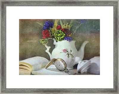 Time In A Pocket Framed Print by Diana Angstadt