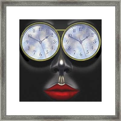Time In Your Eyes - Sq Framed Print by Mike McGlothlen