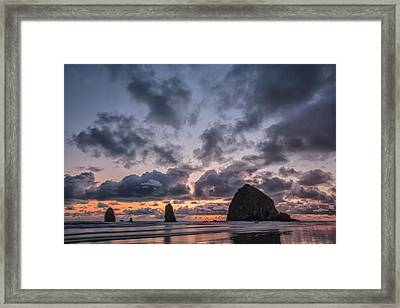 Time Is Fleeting Framed Print by Jon Glaser