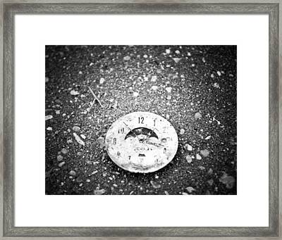 Time Is Fleeting Framed Print by Maggy Marsh