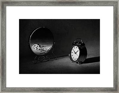 Time Is Just A ... Framed Print