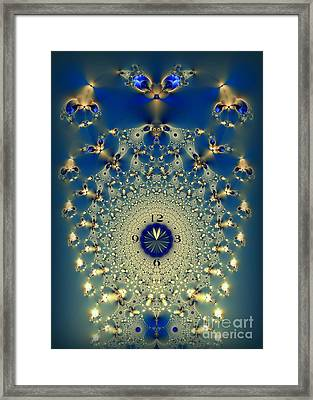Time Is More Precious Than Jewels Framed Print