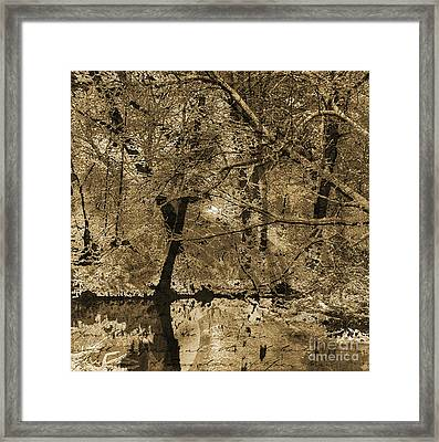 Time Iv Framed Print by Yanni Theodorou