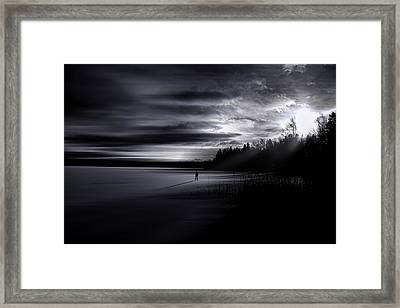 Time Left Behind Framed Print