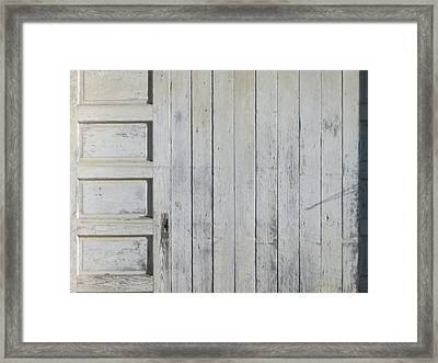 Time Lines Framed Print by Paula Rountree Bischoff