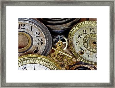 Time Long Gone Framed Print