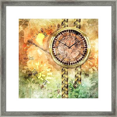Time Lost Framed Print by Elle Arden Walby